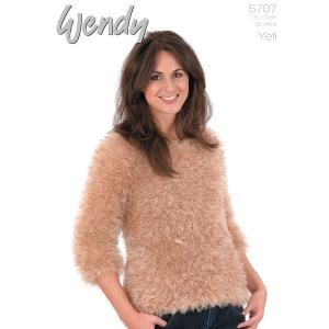 Chunky womans raglan sweater Wendy 5707 digital pattern