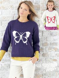 DK sweater Sirdar 7258 Digital Download