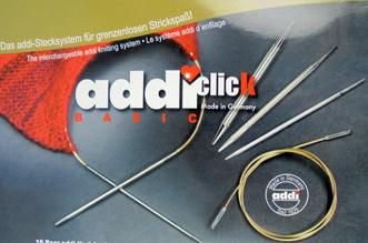 Addi Click interchangeable circular needle set