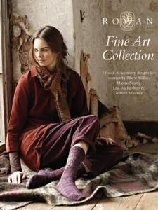 Rowan knitting book Fine Art Collection