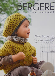 Bergere de France 165 Layette magazine for 0-24mths