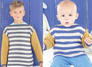 Sweaters for boys Sirdar 4521