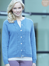 4 ply cardigan Sirdar 7343 Digital Download