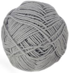Sirdar Cotton Rich Aran, 4 Bay Grey