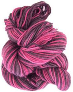 Claudia Oh Baby sock yarn Chocolate Cherry