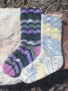 Garland Lace Socks, Wild Horse