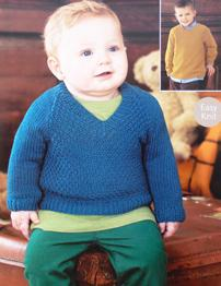 Baby and boys sweaters Sirdar 1469