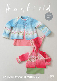 Chunky coats Hayfield 4678 Digital Version