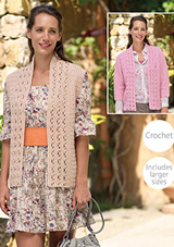 Crochet jacket and waistcoat Sirdar 7937 Digital Download