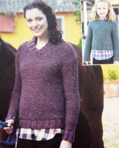 Sweater Sirdar 9622