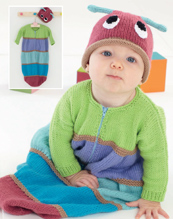 DK hat and sleeping bag Sirdar 4877 Digital Download