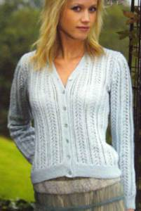4 ply cardigan Wendy 5396 digital version