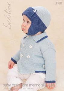 Sublime 6030 baby's coat and helmet