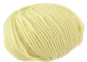 Filatura Di Crosa Monbebe 3 ply 502, pale yellow