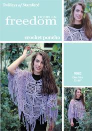 Poncho crochet Twilleys 9002, digital version