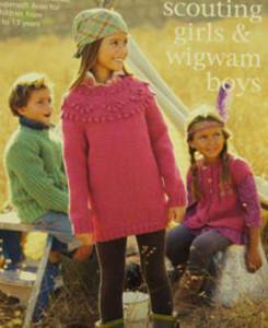 Sirdar Scouting Girls and Wigwam Boys S390