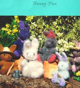 Felting knitting patterns from fibre trends modern knitting bunny fun fiber trends 203x dt1010fo