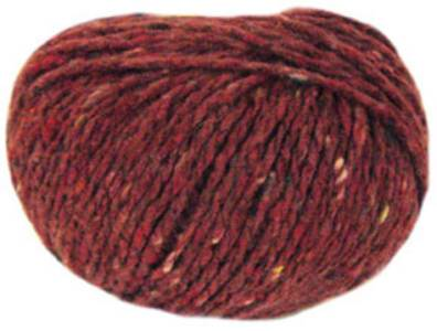 Katia Gales chunky tweed, 63, Brick Red