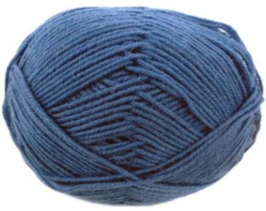 Regia 4 ply sock yarn, French Navy 2740