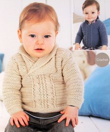 Sirdar 1490 baby sweaters