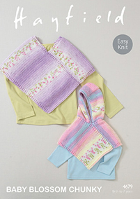 Chunky ponchos Hayfield 4679 Digital Version