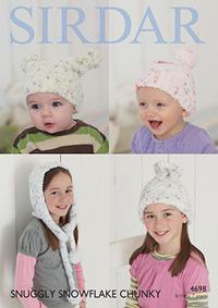 Chunky hats Sirdar 4698 Digital Version