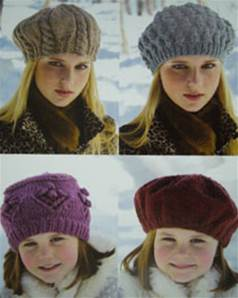 Chunky hats Sirdar 9060 Digital Download
