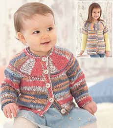 Chunky cardigans Sirdar 4794 Digital Download