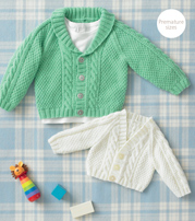 4 ply raglan cardigans Sirdar 4884 Digital Download