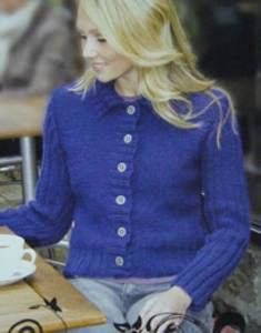 Aran jacket Wendy 5440 digital version