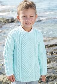 Aran sweater Sirdar 2408 Digital Download