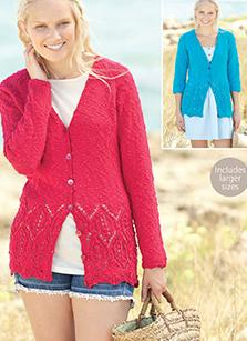 DK cardigans Sirdar 7278 Digital Download