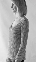 Erika Knight Taormina DK sweater Digital Download