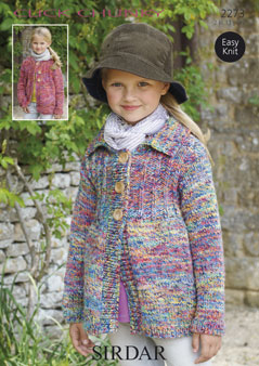 Chunky cardigans Sirdar 2273 Digital Download