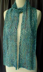 Lacy Serpentine Scarf Heartstrings A62