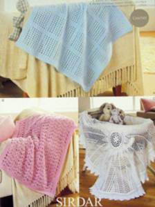 DK crochet blanket Sirdar 1299 Digital Download