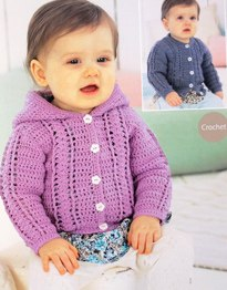 4 ply crochet cardians Sirdar 1489 Digital Download