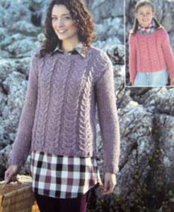 Sweater Sirdar 9672