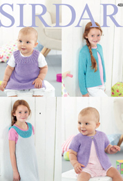 DK cardigans & dresses Sirdar 4887 Digital Download