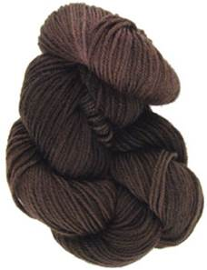 Lornas Laces Shepherd Sock 4 ply, Chocolate
