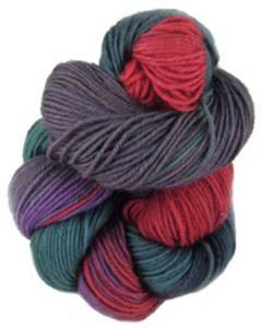 Lornas Laces Shepherd Sock 4 ply, Sunrise
