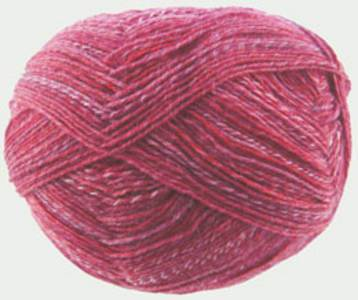 Schoppel Wolle, Ombre cranberry 1957