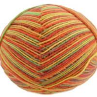 Trekking 4 ply sock yarn, 495 Rust and Bronze