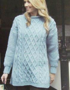 Aran tunic Wendy 5442 digital version