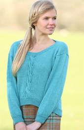 DK womans scoopback sweater Wendy Ramsdale 5783 digital download