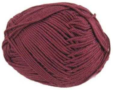 Twilleys Sincere organic cotton DK, 613 Garnet