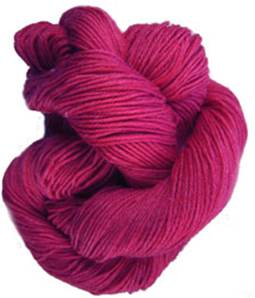 Lornas Laces Shepherd Sock 4 ply, Bold red