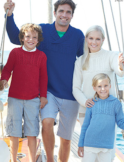 Aran family sweaters Sirdar 7272 Digital Download