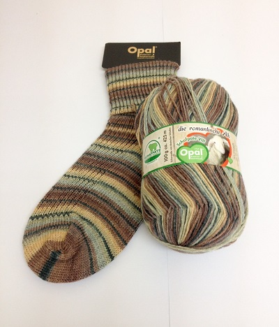 Opal Schafpate 8 sock yarn 9207 Forest Migration