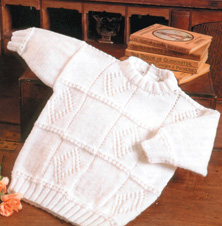 4 ply patchwork sweater Peter Pan 880 Digital Download